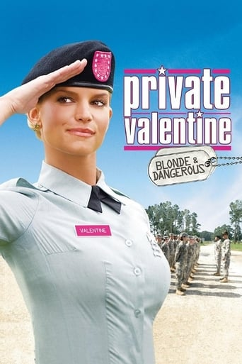 Private Valentine: Blonde & Dangerous Poster