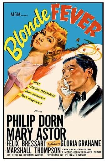 Poster of Blonde Fever