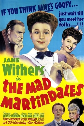 Poster of The Mad Martindales