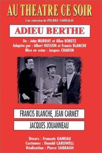 Watch Adieu Berthe Online Free Putlocker