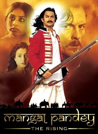 Poster of Mangal Pandey - The Rising