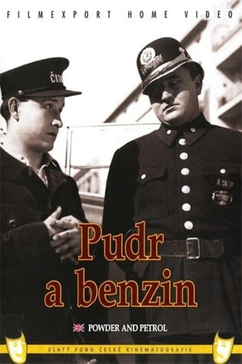 Poster of Pudr a benzin
