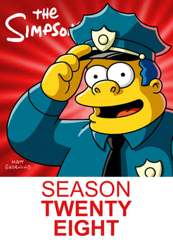 Os Simpsons 28ª Temporada - Poster