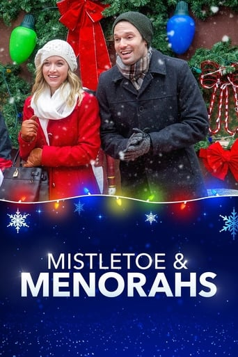 Poster of Mistletoe & Menorahs