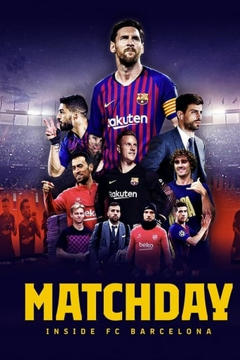 Matchday Inside FC Barcelona 1ª Temporada - Poster