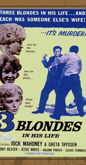 Poster of Three Blondes In His Life