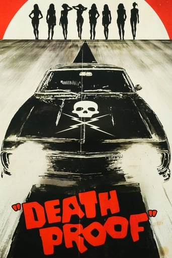 Death Proof (2007) - poster