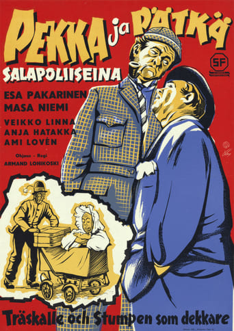 Watch Pekka ja Pätkä salapoliiseina Full Movie Online Putlockers