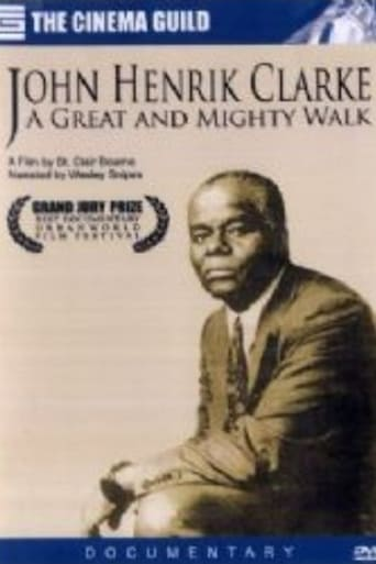 Poster of John Henrik Clarke: A Great and Mighty Walk