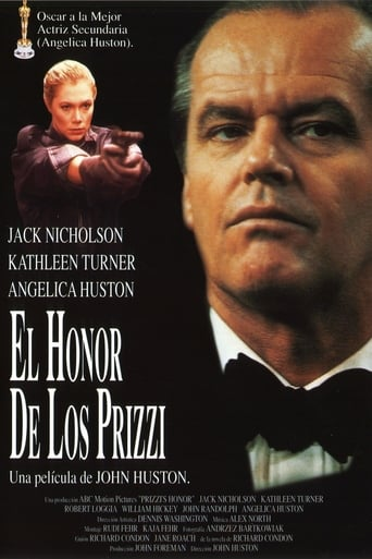 Poster of El honor de los Prizzi