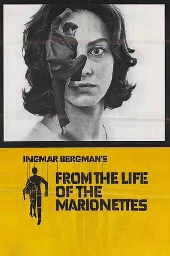 From the Life of the Marionettes Movie Poster