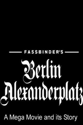 Poster of Fassbinder's  Berlin Alexanderplatz: A Mega Movie and its Story