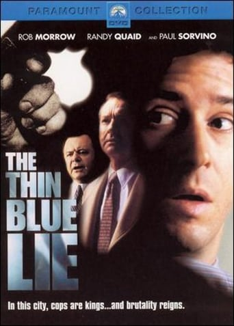 Poster of The Thin Blue Lie