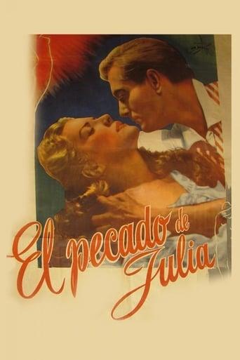 Poster of El pecado de Julia
