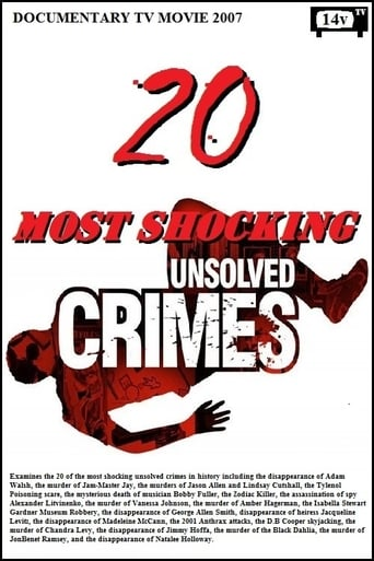 Poster of 20 Most Shocking Unsolved Crimes