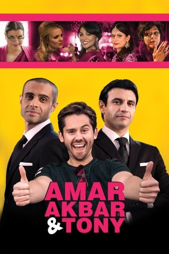 Poster of Amar Akbar & Tony