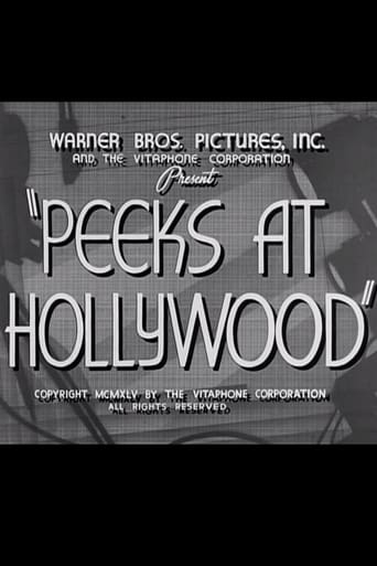 Poster of Peeks at Hollywood