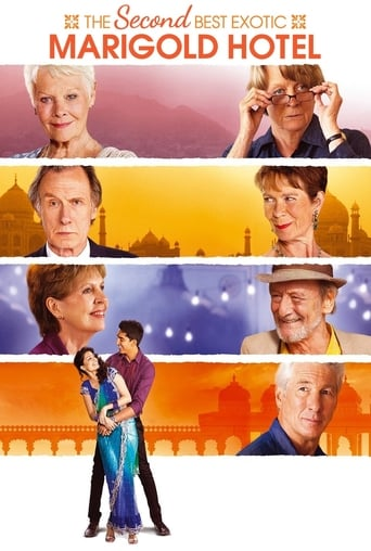 Poster of The Second Best Exotic Marigold Hotel