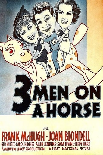 Three Men on a Horse Movie Poster