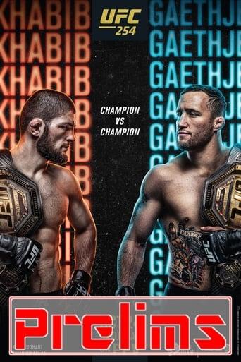 Poster of UFC 254: Khabib vs. Gaethje - Prelims