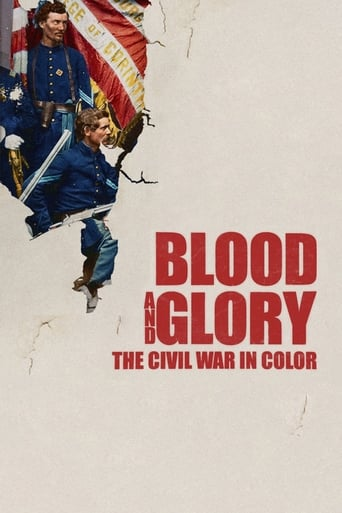Poster of Blood and Glory: The Civil War in Color
