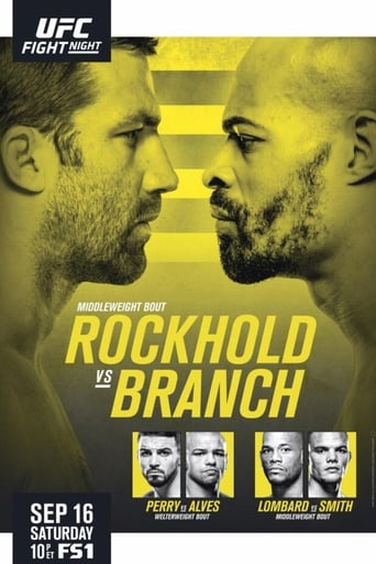 Poster of UFC Fight Night 116: Rockhold vs. Branch