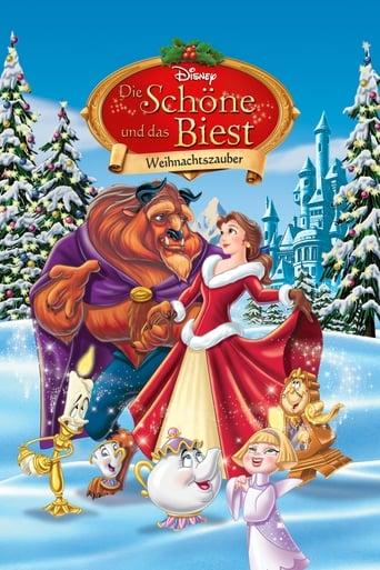 Filmplakat von Die Schöne und das Biest - Weihnachtszauber
