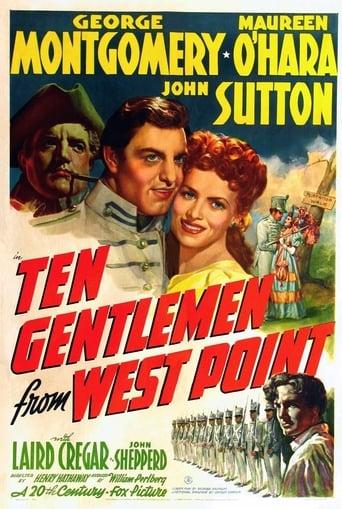 Poster of Ten Gentlemen from West Point