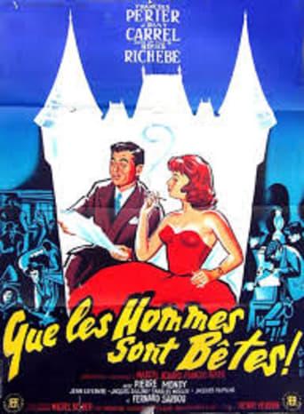Poster of Que les hommes sont bêtes