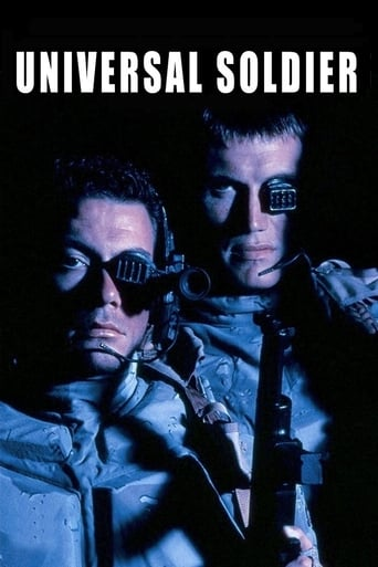 Official movie poster for Universal Soldier (1992)