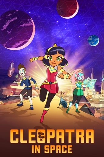 Cleopatra in Space Poster