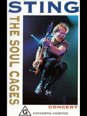 Poster of The Soul Cages Concert