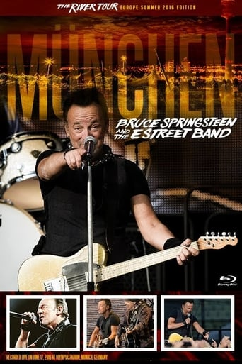 Poster of Bruce Springsteen - The River Tour - Munich 2016
