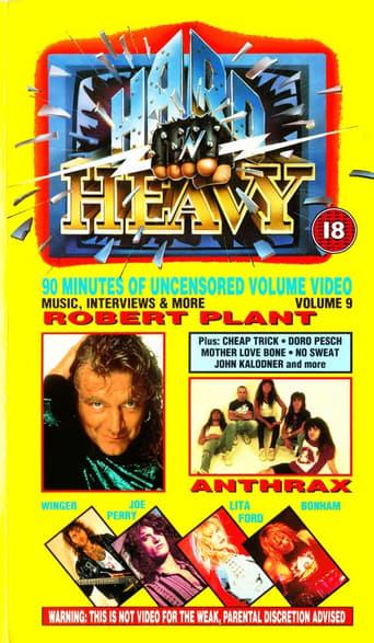 Poster of Hard 'N Heavy Volume 9
