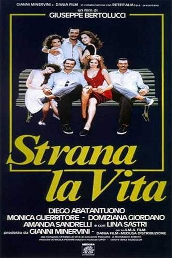 Poster of Strana la vita