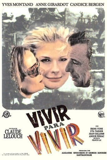 Poster of Vivir para vivir