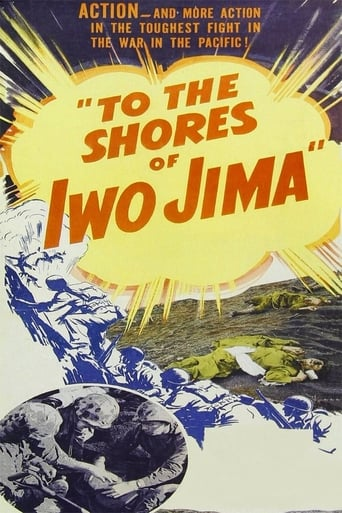 Poster of To the Shores of Iwo Jima