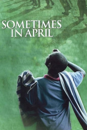 Poster of Sometimes in April