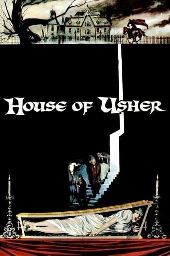 House of Usher (1960) - poster