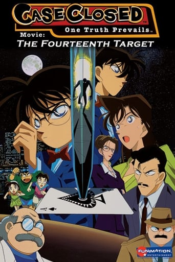 Poster of Case Closed: The Fourteenth Target