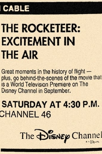 Poster of Rocketeer: Excitement in the air