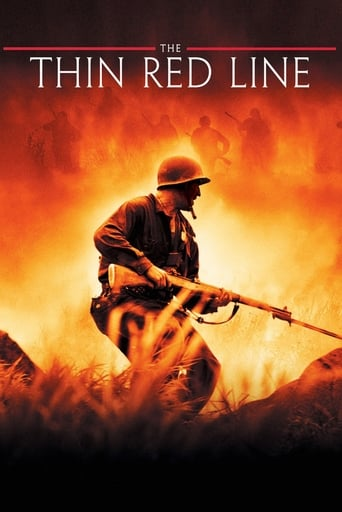 Official movie poster for The Thin Red Line (1998)