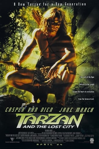 Poster of Tarzan and the Lost City