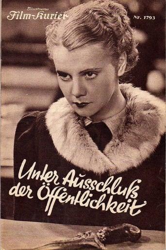 Poster of Unter Ausschluß der Öffentlichkeit