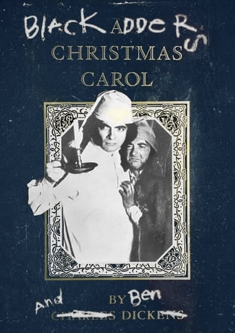 Poster of Blackadder's Christmas Carol