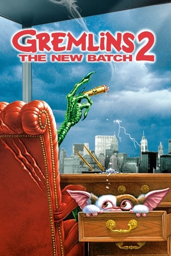 Poster of Gremlins 2: The New Batch