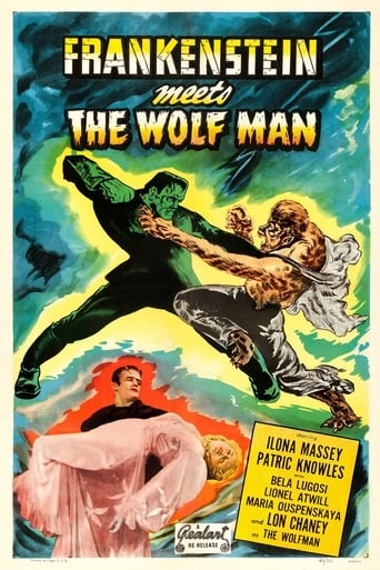 Poster of Frankenstein Meets the Wolf Man