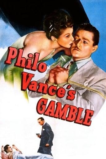 Poster of Philo Vance's Gamble