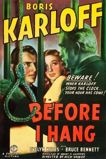Poster of Before I Hang