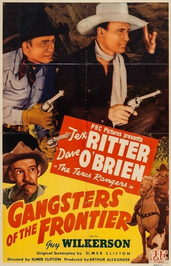 Poster of Gangsters of the Frontier